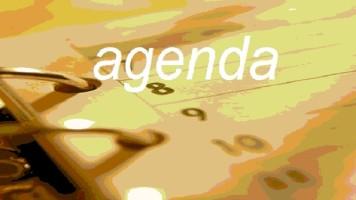AGENDA DO DIA: Sexta, 21 Novembro