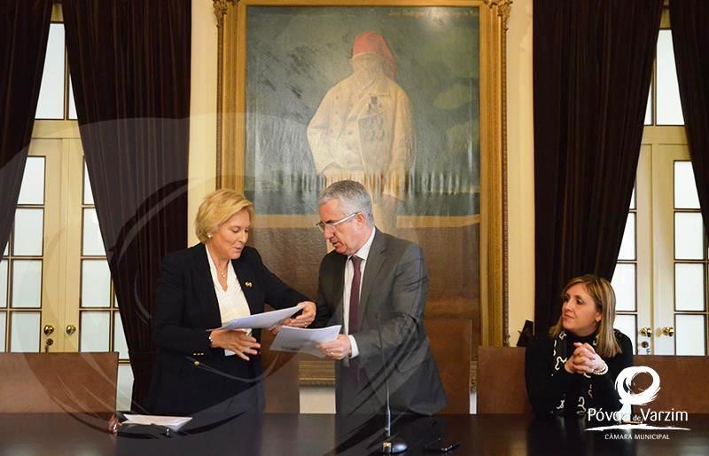 CM Póvoa de Varzim assina protocolo com Cruz Vermelha