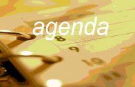 Agenda: Sexta, 20 Nov