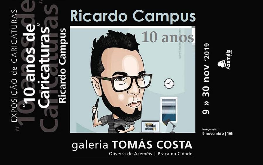 Ricardo Campus: 10 anos de caricaturas
