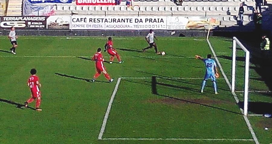 Golo de Malele não chegou no empate do Varzim (1-1) sobre o Gil Vicente