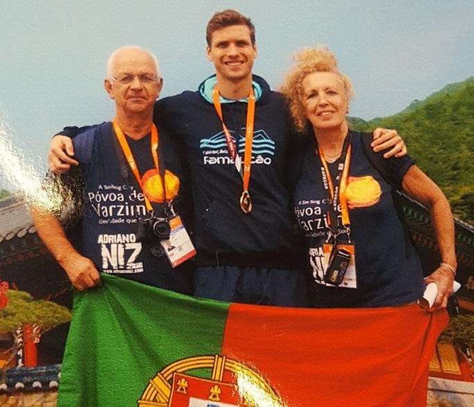 Adriano Niz é Campeão do Mundo de Natação