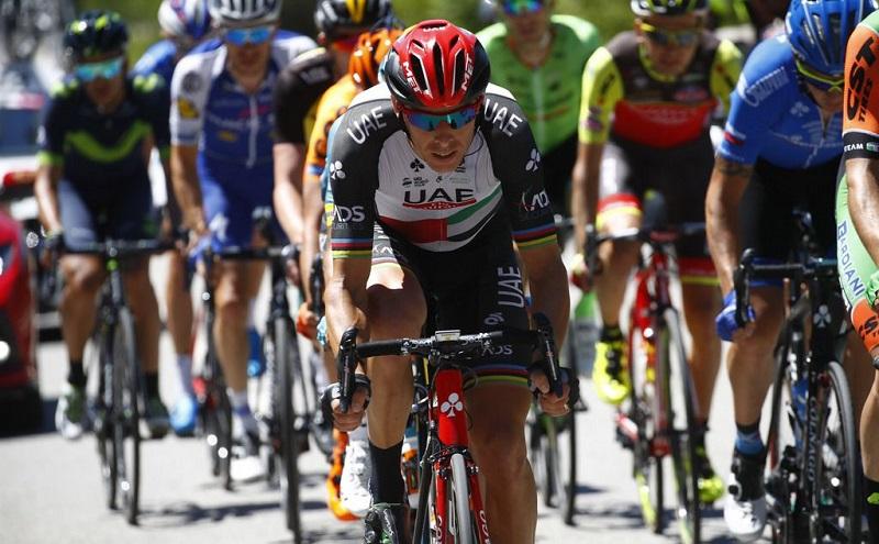 """Rui Costa perto do Top 20 da """"Vuelta"""""""
