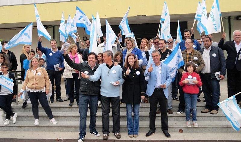 CDS-PP em campanha