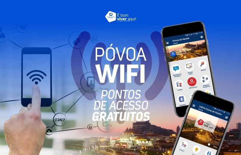 Póvoa: aplicações wi-fi