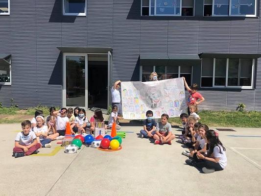 Crianças desenharam para 'Leite é Vida'